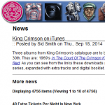King Crimson on iTunes
